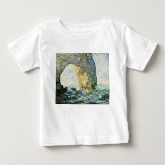 Manneporte, Rock Arch - Étretat (Normandy) - Monet Baby T-Shirt