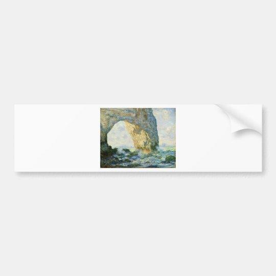 Manneporte, Rock Arch - Étretat (Normandy) - Monet Bumper Sticker