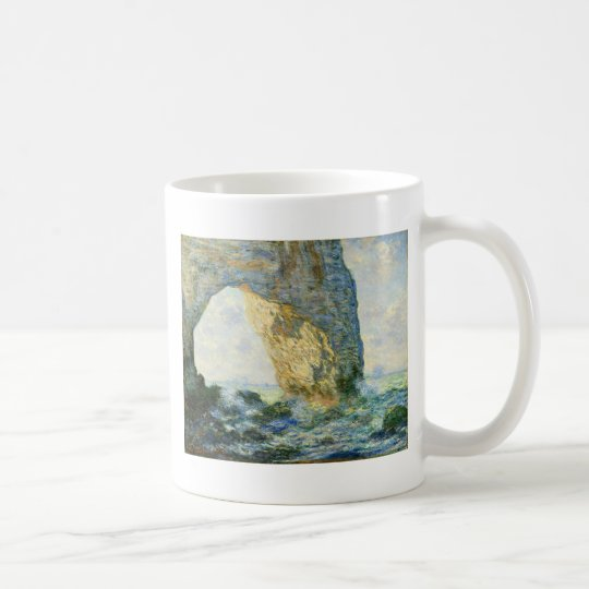 Manneporte, Rock Arch - Étretat (Normandy) - Monet Coffee Mug