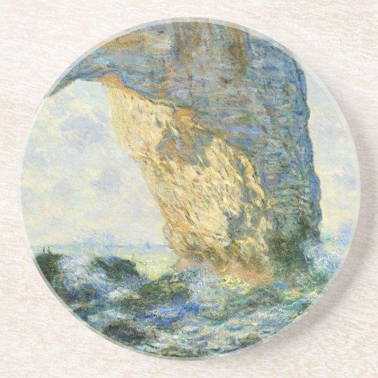 Manneporte, Rock Arch - Étretat (Normandy) - Monet Drink Coaster