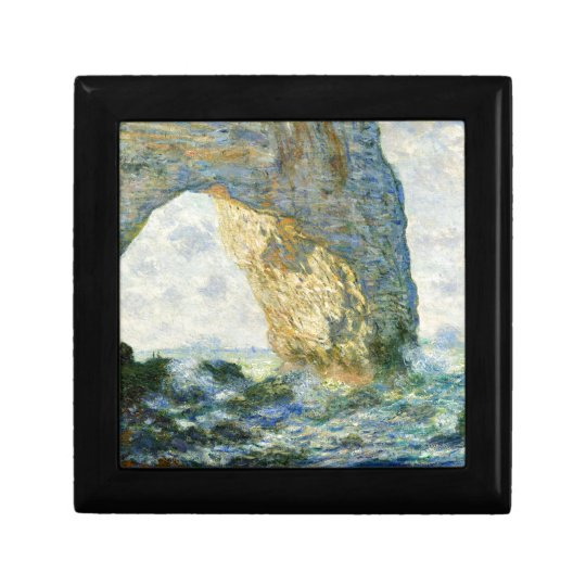 Manneporte, Rock Arch - Étretat (Normandy) - Monet Gift Box