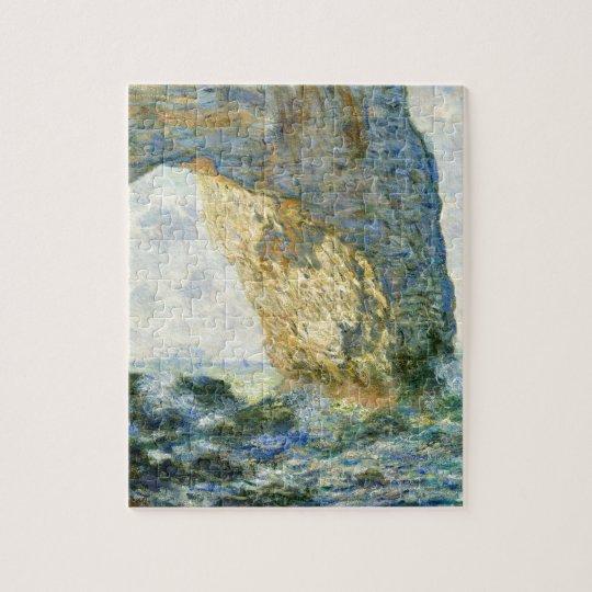 Manneporte, Rock Arch - Étretat (Normandy) - Monet Jigsaw Puzzle