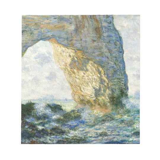 Manneporte, Rock Arch - Étretat (Normandy) - Monet Notepad