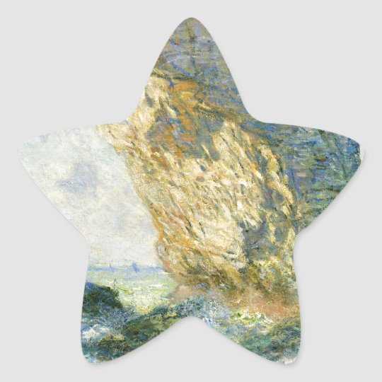 Manneporte, Rock Arch - Étretat (Normandy) - Monet Star Sticker