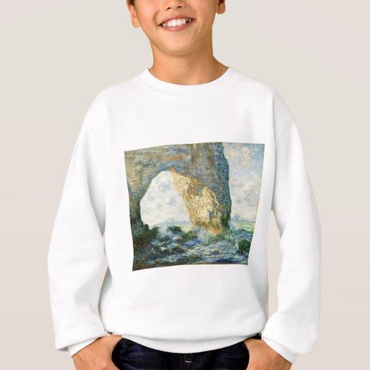 Manneporte, Rock Arch - Étretat (Normandy) - Monet Sweatshirt