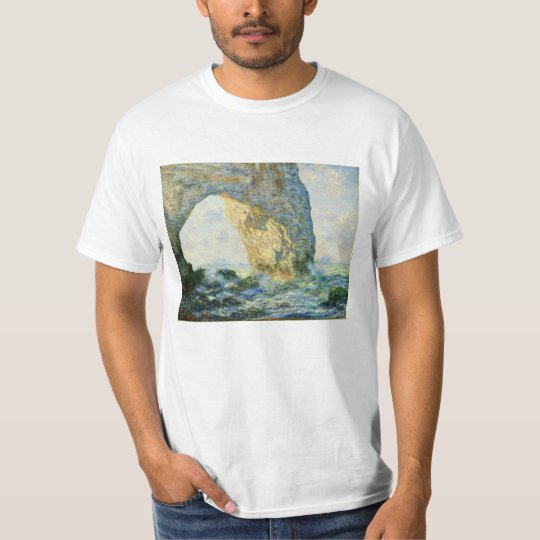 Manneporte, Rock Arch Étretat (Normandy) - Monet T-Shirt