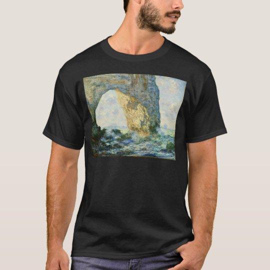 Manneporte, Rock Arch - Étretat (Normandy) - Monet T-Shirt