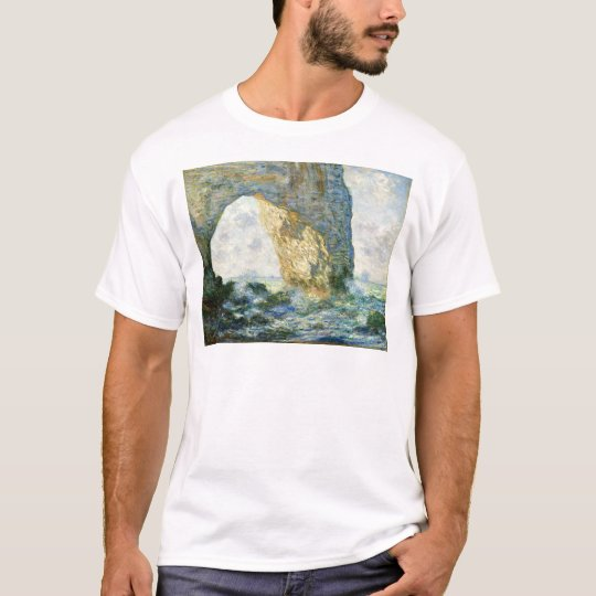 Manneporte, Rock Arch - Étretat (Normandy) - Monet T-Shirt