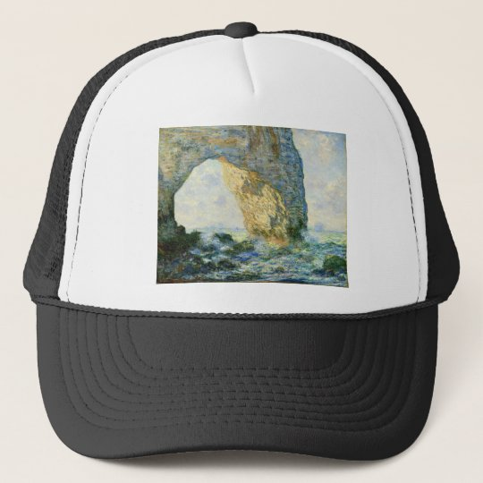 Manneporte, Rock Arch - Étretat (Normandy) - Monet Trucker Hat