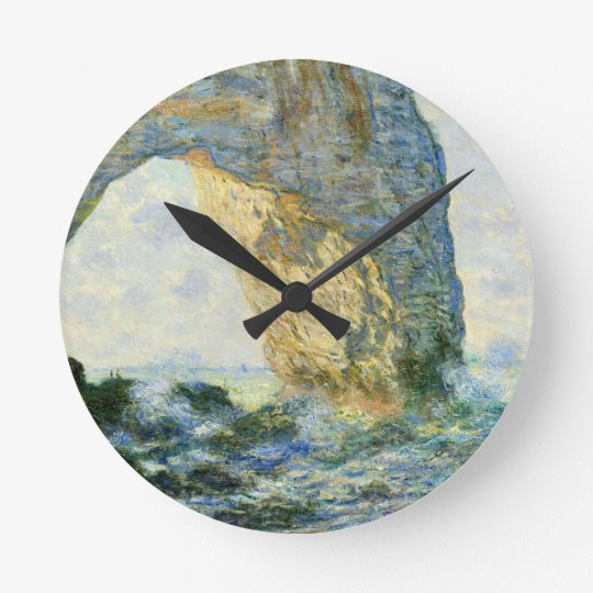 Manneporte, Rock Arch - Étretat (Normandy) - Monet Wallclock