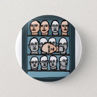 Mannequin Heads 2 Inch Round Button