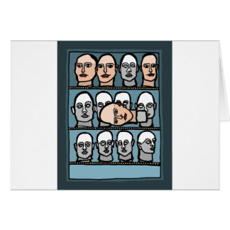 Mannequin Heads Card
