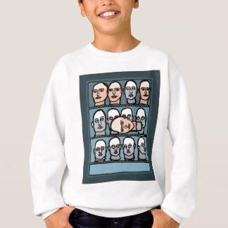 Mannequin Heads Sweatshirt