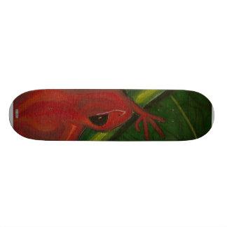 Manny The Mantella (Frog) Skateboard Deck