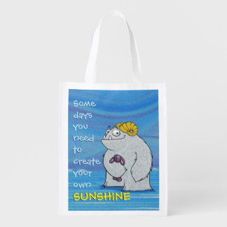 Manny the Yeti, reusable bag