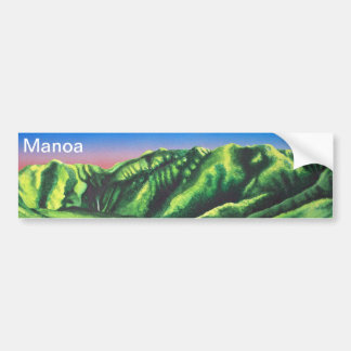 Manoa Falls Bumper Sticker