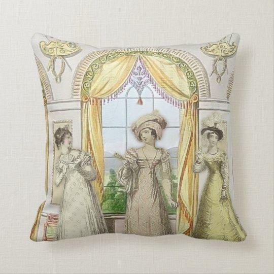 ManorHouseScolding Throw Pillow