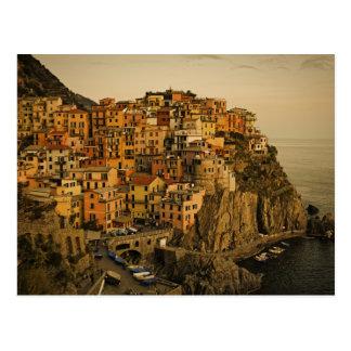 Manrola - Cinque Terre, Italia Postcard