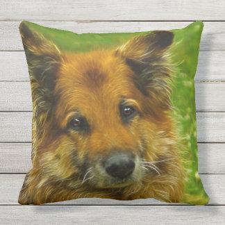 Man's Best Friend #2 Throw Pillow