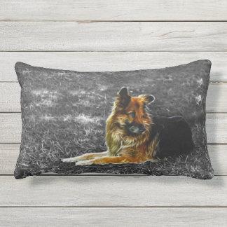 Man's Best Friend #3 Outdoor Pillow