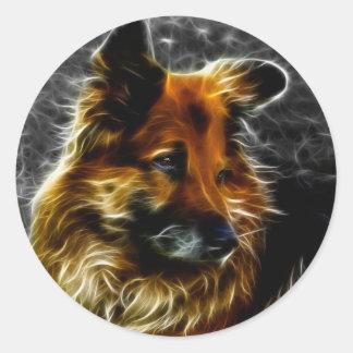 Man's Best Friend #3 Round Sticker