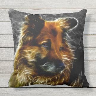 Man's Best Friend #3 Throw Pillow