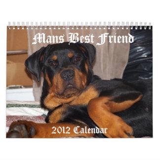 Mans Best Friend Calendars