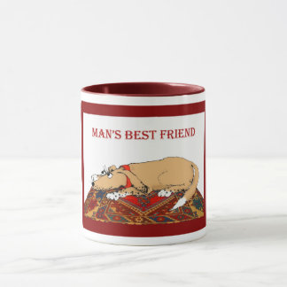 Mans best friend mug