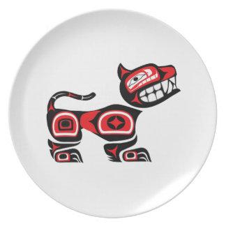 Mans Best Friend Plate