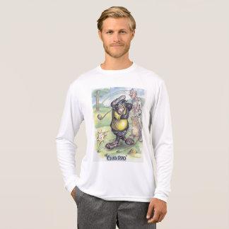 Man's long sleeve golfer design. T-Shirt