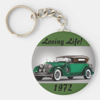 Man's Loving Life Birth Year Key Chain
