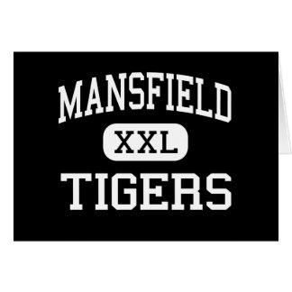 Mansfield - Tigers - High School - Arlington Texas Greeting Card