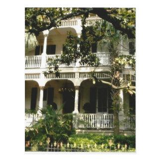 mansion in texas port arkansas postcard