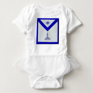 Mansonic Senior Warden Apron Baby Bodysuit