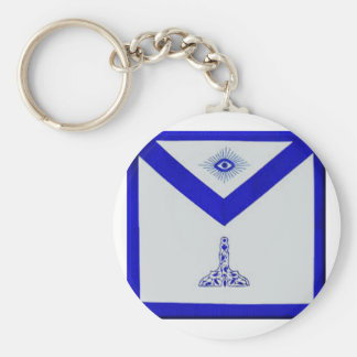 Mansonic Senior Warden Apron Keychain