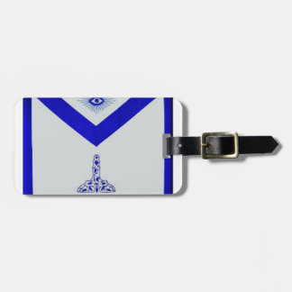 Mansonic Senior Warden Apron Luggage Tag