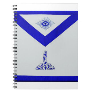 Mansonic Senior Warden Apron Notebook