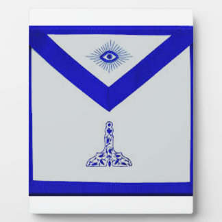 Mansonic Senior Warden Apron Plaque