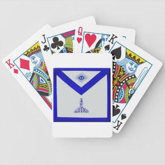 Mansonic Senior Warden Apron Poker Deck