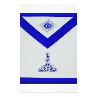 Mansonic Senior Warden Apron Stationery