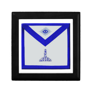 Mansonic Senior Warden Apron Trinket Box