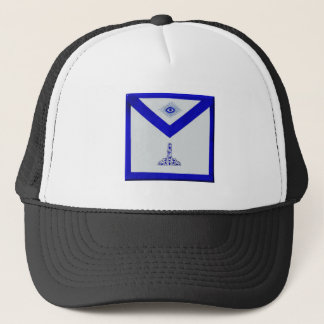 Mansonic Senior Warden Apron Trucker Hat