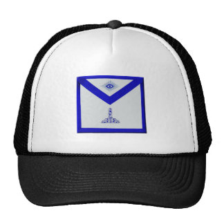 Mansonic Senior Warden Apron Trucker Hat