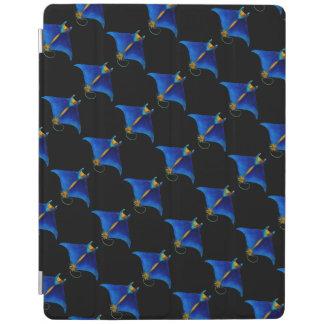 manta ray art iPad cover