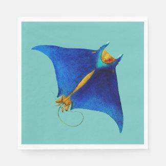manta ray disposable napkin