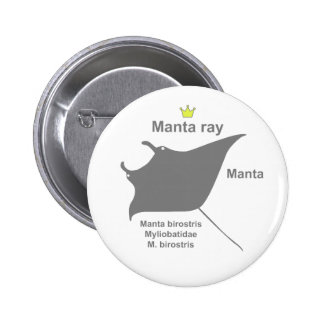 Manta ray g5 2 inch round button