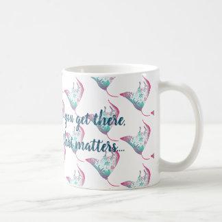 Manta Ray Inspiring Quote Mug