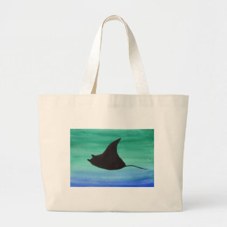 Manta Ray Large Tote Bag
