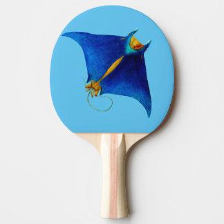 manta ray ping pong paddle