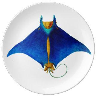 manta ray plate